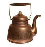 Old copper kettle Stock Photography