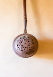 Old copper ladle Royalty Free Stock Photography