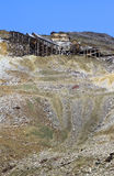 Old copper mine Stock Photography