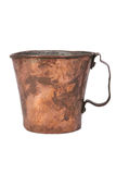 Old copper mug Royalty Free Stock Image