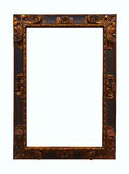 Old copper picture frame Royalty Free Stock Image
