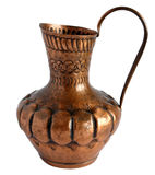 Old Copper pitcher Stock Images