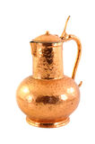 Old copper pot Royalty Free Stock Photo