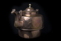 Old copper pot Royalty Free Stock Photography