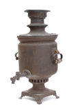 Old copper samovar Royalty Free Stock Images