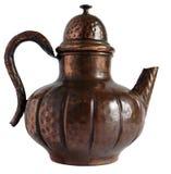 Old Copper Teapot Stock Photos