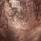 Old copper texture Stock Photos