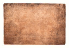 Old copper texture. Aged copper plate texture, old worn metal background Royalty Free Stock Image
