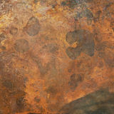 Old copper texture Royalty Free Stock Photography