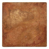 Old copper texture. Aged copper plate texture, old worn metal background Stock Photos
