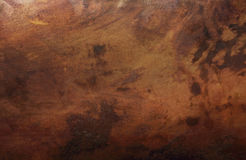 Old copper texture Royalty Free Stock Photo