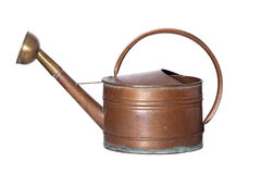 Old copper watering can Stock Photos
