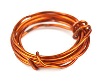 Old copper wire Stock Image