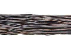 Old copper wires Stock Photo