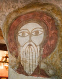 Old Coptic fresco Stock Images