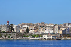 Old Corfu town Greece Royalty Free Stock Images