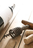 Old corkscrew Stock Images