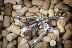 Old corkscrew Royalty Free Stock Images