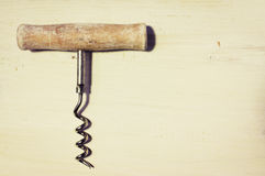 Old corkscrew Stock Photography