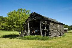 Old corn barn royalty free stock images