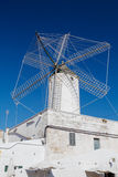 Old corn mill in Ciutadella. The Molí des comte (Count's Mill) in Ciutadella, Menorca, Spain. This corn wind mill was built in 1762 and was preserved in fine Stock Images