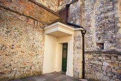 Old corner doorway. Stock Image