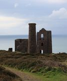 Old Cornish Tin Mine Royalty Free Stock Images