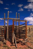 Old Corral Royalty Free Stock Photo