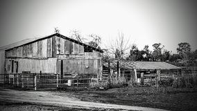 Old corral royalty free stock images