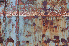 Old corroded steel surface Royalty Free Stock Photography