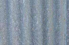 Old corrugated aluminium Royalty Free Stock Image