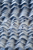 Old corrugated iron sheet Stock Images