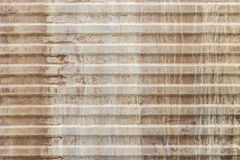 Old corrugated metal sheet Royalty Free Stock Photo