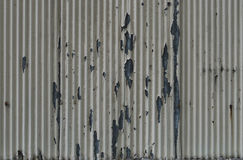 Old corrugated wall Royalty Free Stock Images