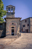 Old Cortona town in Tuscany Royalty Free Stock Images
