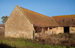 Old Cotswold barn Royalty Free Stock Images