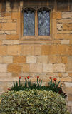 Old Cotswold Stone Exterior Royalty Free Stock Image