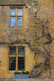 Old Cotswold Stone Exterior Royalty Free Stock Images