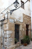 Old cottage in eivissa Royalty Free Stock Image