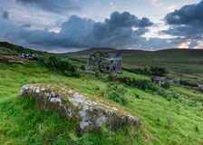 Old Cottage on the Moors Royalty Free Stock Photo