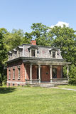 Old Cottage at Snug Harbor in Staten Island, NYC.  Royalty Free Stock Photo