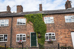 Old Cottages in the Cheshire Market Town  of Sandbach England Stock Images