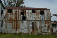 Old Cotton Gin Royalty Free Stock Photography
