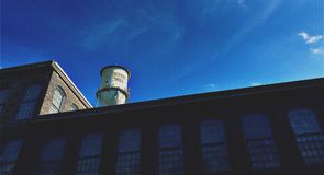 Old Cotton Mill Building Royalty Free Stock Image