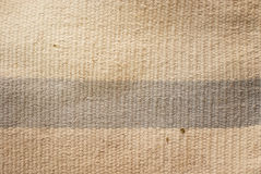 Old cotton rug Royalty Free Stock Photography
