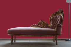 Old couch Royalty Free Stock Image