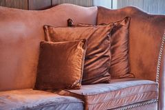 Luxurious vintage sofa Royalty Free Stock Image