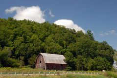 Old country barn Stock Image