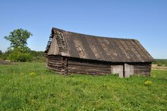 Old country barn Royalty Free Stock Images