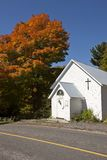 Old Country Church in Autumn Royalty Free Stock Photography